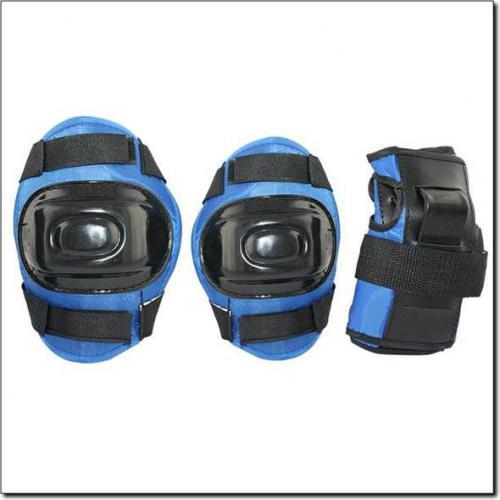 NILS Extreme H108 rozm.M Ciemny Niebieski zestaw ochraniaczy (16-2-336)
