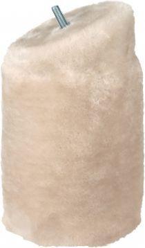 Trixie Cat Select S 13 słupek skośny do drapaka, pluszowy, o 12 × 15 cm,jasnoszary