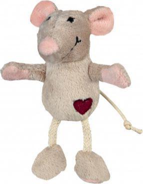 Trixie Mysz pluszowa, 11 cm, beżowa