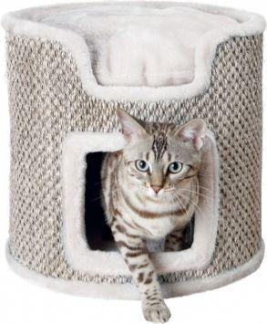 Trixie Wieża dla kota Ria, 37 cm, jasno szary