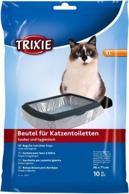 Trixie Worki do kuwety, XL: do 56 × 71 cm, 10 szt