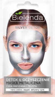 Bielenda Silver Detox Detoksykująca maseczka do cery mieszanej i tłustej 8g