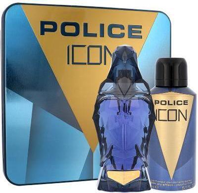 POLICE Icon Zestaw dla mężczyzn EDP 125 ml + Deodorant 150 ml