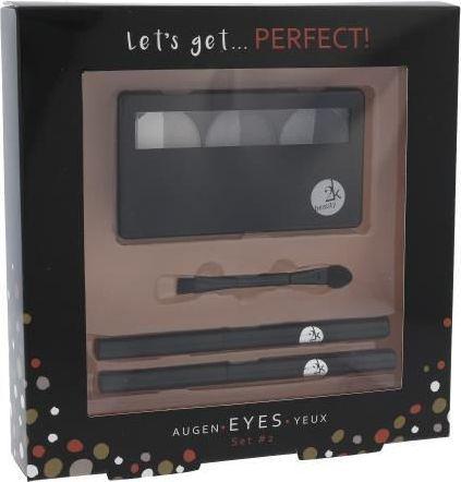2K Let´s Get Perfect! Eyeshadow Zestaw dla kobiet