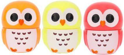 2K Trio Lip Gloss Zestaw dla kobiet  2.5g Lip Gloss Pineapple + 2.5g Lip Gloss Orange + 2.5g Lip Gloss Strawberry