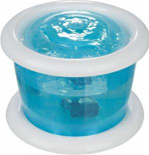 Trixie Automatyczne poidło Bubble Stream , 3 l, niebiesko/białe