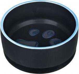 Trixie Miska ceramiczna z gumową podstawą, 0.4 l/ø 12 cm