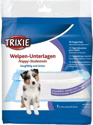 Trixie Pieluchy dla psa lawendowe 40 × 60 cm 7 sztuk