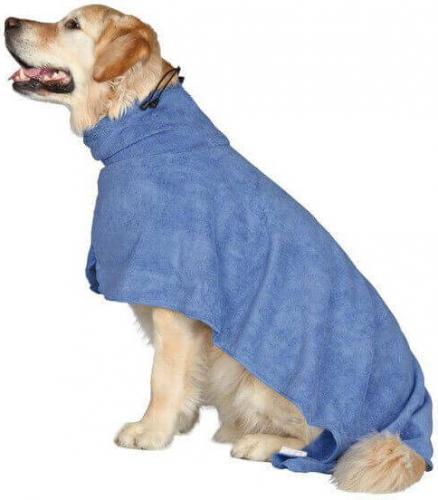 Trixie Szlafrok dla psów, XS, microfibra, 30 cm