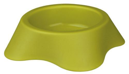 Trixie Miska plastikowa ciężka antypoślizgowa, gumowe nóżki 0,2 l/9 cm