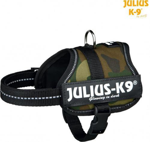 Trixie Szelki Julius-K9 Baby/Mini-Mini/Mini XS-S - Kamuflaż