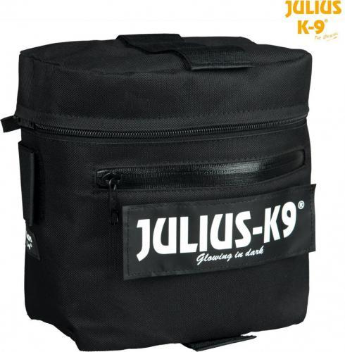 Trixie Podwójna torba siodłowa Julius-K9  czarna