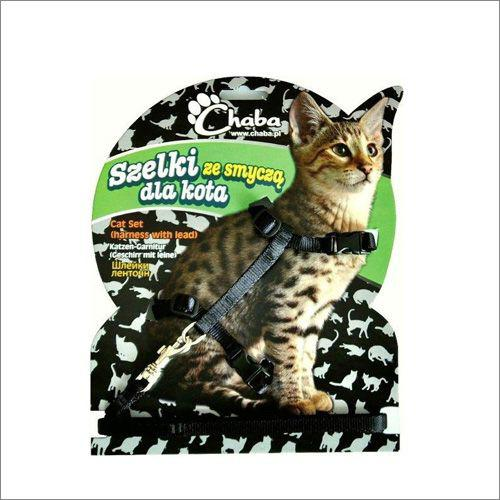 CHABA Komplet Taśma Kot Czarny