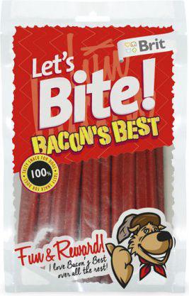 Brit LETS BITE PIES 105g BACONs BEST