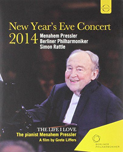 CLASSICAL PRESSLER, MENAHEM / BERLINER PHILHARMONIKER / SIMON RATTLE EUROARTS - GALA 2014 PLUS DOCUMENTARY 'THE LIFE I LOVE - THE PIANIST MENAHEM PRESSLER'
