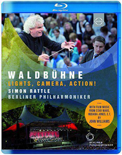 Berliner Philharmoniker & Simon Rattle: Berliner Philharmoniker - Camera, Lights, Action! - Film Music (Blu-Ray)