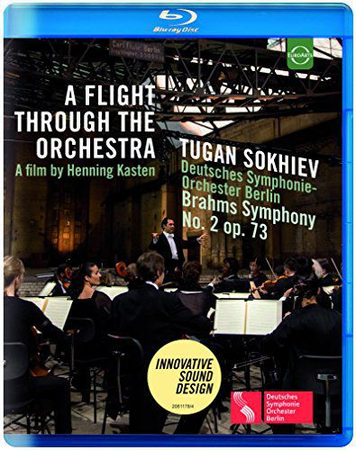CLASSICAL DEUTSCHES SYMPHONIE-ORCHESTER BERLIN, TUGAN SOKHIEV EUROARTS - A FLIGHT THROUGH THE ORCHESTRA - BRAHMS: SYMPHONY NO 2 IN D MAJOR, OLD POWER STATION KRAFTWERK RUMMELSBURG, BERLIN