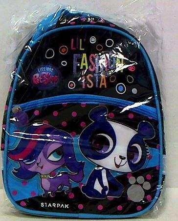 Starpak Plecak mini Littlest Pet Shop STK-18-12 czarno-niebieski (372660)