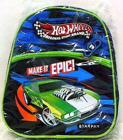 Starpak Plecak mini Hot Wheels STK-46-12 niebiesko-zielony (372550)