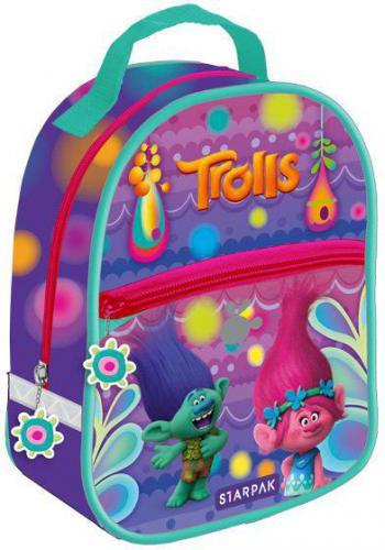 Starpak Plecak mini Trolls STK 63-12 fioletowo-turkusowy (372623)