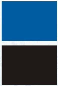AQUA NOVA TŁO L 100X50 BLACK/BLUE