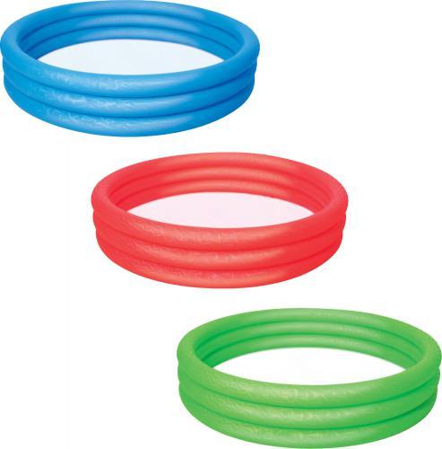 Bestway Basen nadmuchiwany 3 pierścienie 152x30cm - 3 kolory