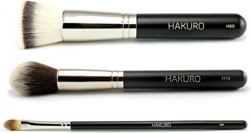 Hakuro podstawowy zestaw do makijażu twarzy