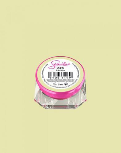Diamond Cosmetics Żelowy lakier do paznokci 5 ml 023 BANANA
