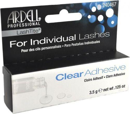 Ardell Ardell Lashtite Adhesive Clear Bezbarwny klej do bezwęzełkowych kępek rzęs 3,6 ml - 0000040014