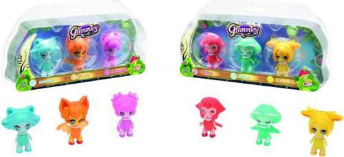 Cobi Glimmies 3 Figurki - różne rodzaje