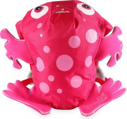 LittleLife Plecak SwimPak Żaba różowa  (L12041)