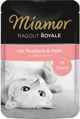 FINNERN Miamor Ragout Royale saszetka Tuńczyk i kura w sosie - 100g