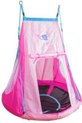 Hudora Nest Swing With Tent Heart 110 (72153)