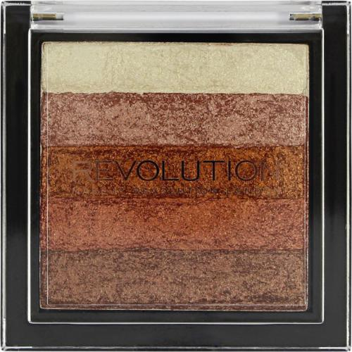 Makeup Revolution Vivid Shimmer Brick - Rose Gold 7g