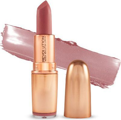 Makeup Revolution Iconic Matte Nude Revolution Lipstick Pomadka  3.2g   Lust
