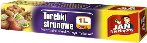JAN Niezbędny  Torebki Strunowe 1l 20szt (ZZAJAN080)