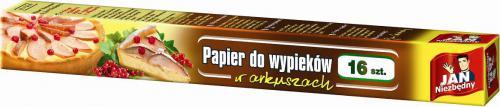 JAN Niezbędny  Papier do wypieków w arkuszach 16szt (8571014273)