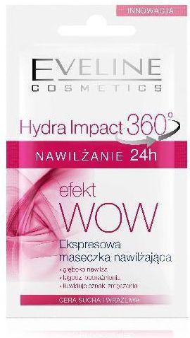 Eveline Hydra Impact 360 Nawilżanie 24h Maseczka z efektem WOW!  7ml
