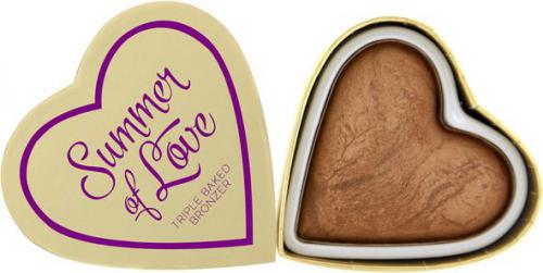 Makeup Revolution I Heart Makeup Bronzer do twarzy Love Hot Summer 10g
