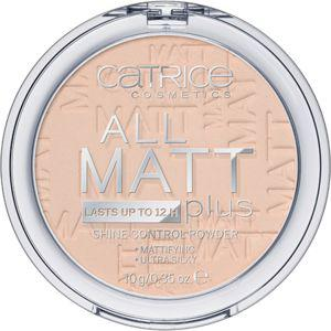 Catrice All Matt Plus Powder puder w kamieniu 010 Transparent 10g