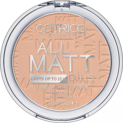 Catrice All Matt Plus Powder puder w kamieniu 025 Sand Beige 10g