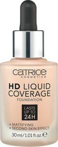 Catrice HD Liquid Coverage podkład w płynie 010 Light Beige 30ml