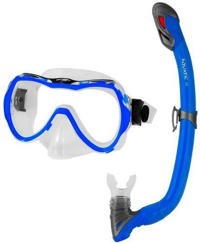 Aqua-Speed MASKA  ENZO+FAJKA SAMOS 11 niebieski (41335)