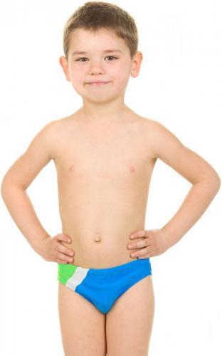 Aqua-Speed Spodenki pływackie dziecięce BARTEK 116 kol 24 niebiesko-zielono-czarny (44180)