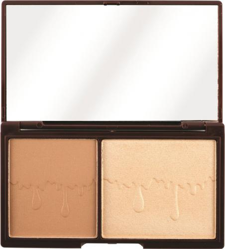 Makeup Revolution I HEART MAKEUP Bronze & Glow - Paletka Do Konturowania Twarzy  11g