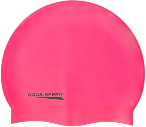 Aqua-Speed Czepek pływacki MEGA 03 róż (40742)