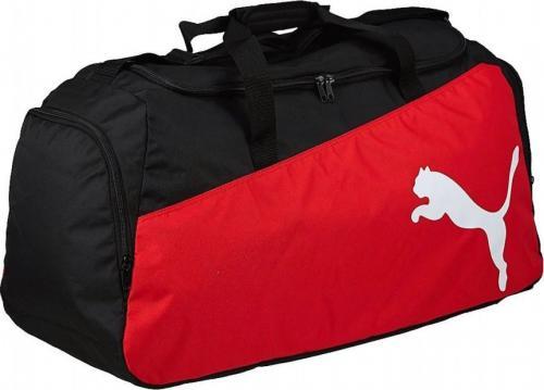23c941ebe5bfa Puma Torba sportowa Pro Training M czarno-czerwona (76166)