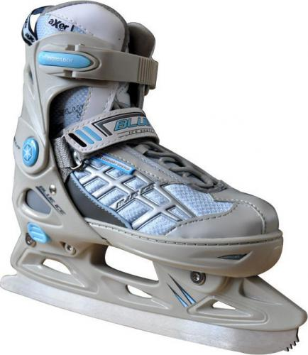Axer Adjustable Ice Skates Blue Ice (A2962-XS)