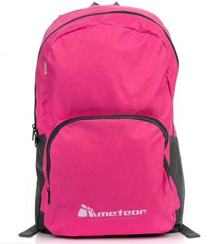Meteor Plecak sportowy Meteor Frigg 24L różowo-czarny (75453)
