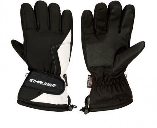 Starling Rękawice unisex czarne r. 10 (0408-ZWW 7)